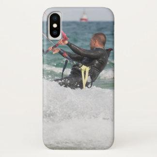 Kitesurfing iPhone X Case