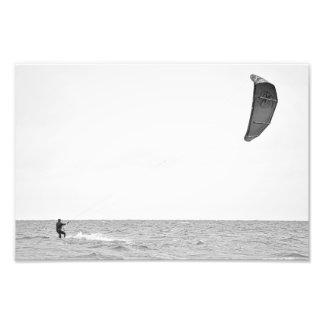 Kitesurfing - Photo Print