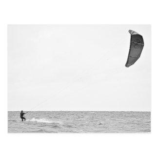 Kitesurfing - Postcard
