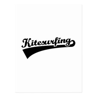 Kitesurfing Postcard