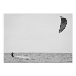 Kitesurfing - poster