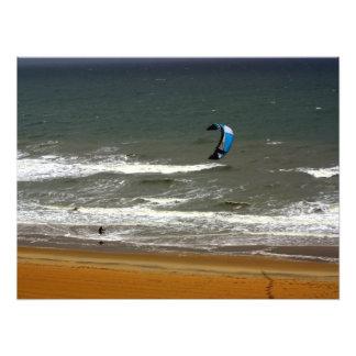 Kitesurfing Virginia Beach Print Art Photo