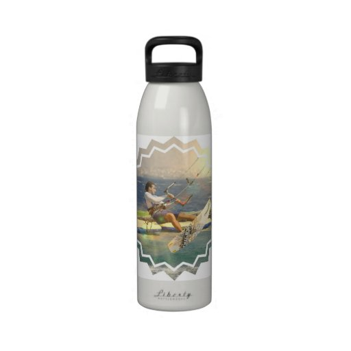 Kitesurfing Water Bottle