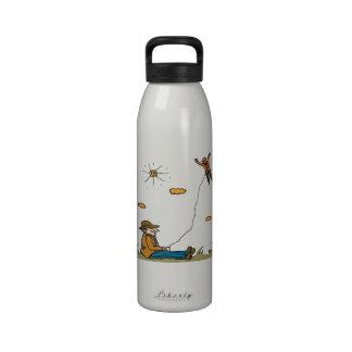 Kiting 2 botellas de agua reutilizables