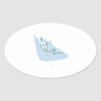 Kiting 4 oval sticker