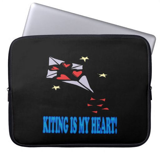 Kiting Is My Heart Laptop Computer Sleeves