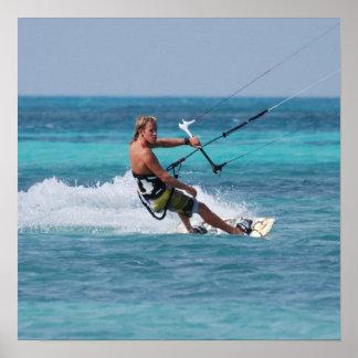Kiting Sport Poster