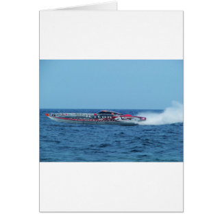 Kiton offshore powerboat. card