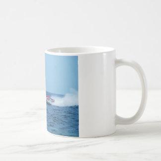 Kiton offshore powerboat. mugs