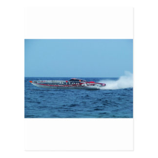 Kiton offshore powerboat. postcards