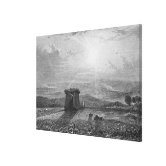 Kits Cot House Canvas Print