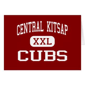 Kitsap central - Cubs - joven - Silverdale Tarjetas