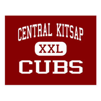 Kitsap central - Cubs - joven - Silverdale Tarjetas Postales