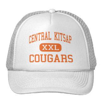 Kitsap central - pumas - alto - Silverdale Gorros Bordados