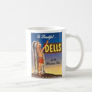 """Kitsch del arte del anuncio de los Dells """"de Taza Clásica"""