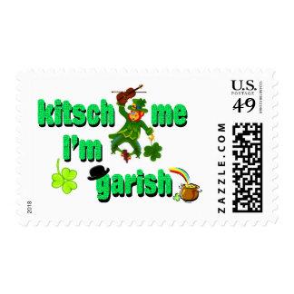 kitsch me I'm garish Postage Stamps