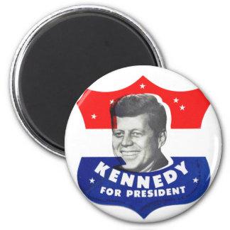 Kitsch retro 60s Kennedy del vintage para el presi Imán Para Frigorífico