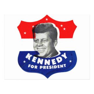 Kitsch retro 60s Kennedy del vintage para el presi Postal