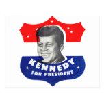 Kitsch retro 60s Kennedy del vintage para el Postales
