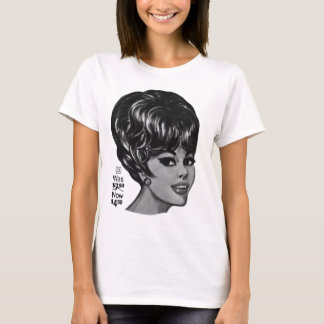 Kitsch Vintage '100% Human Wig' Ad T-Shirt