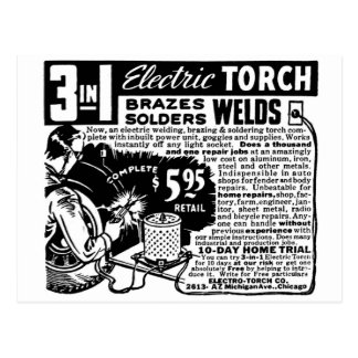 Kitsch Vintage Ad 3 in 1 Welder Mail Order Postcard