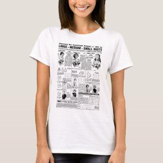 Kitsch Vintage Ad Mail Order Bras T-Shirt