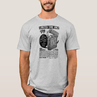 Kitsch Vintage Ad Mail Order Lighter T-Shirt
