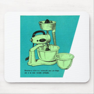Kitsch Vintage Appliance 'The Mixer' el mezclador Mouse Pad