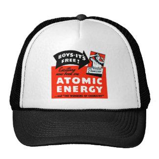 Kitsch Vintage Atomic Energy For Kids! Trucker Hat
