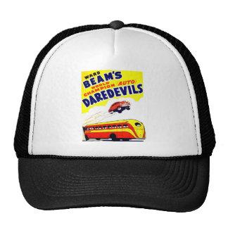 Kitsch Vintage Auto Daredevils Trucker Hat