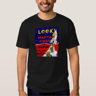 Kitsch Vintage Candy Martian Finks T Shirt