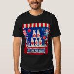 Kitsch Vintage Carnival Game Hit The Milk Bottle T-shirt