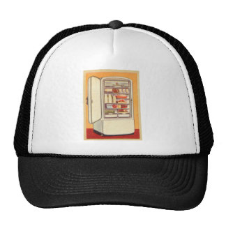 Kitsch Vintage Classic Refrigerator Mesh Hats