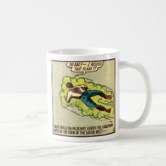Kitsch Vintage Comic Aman Coffee Mug