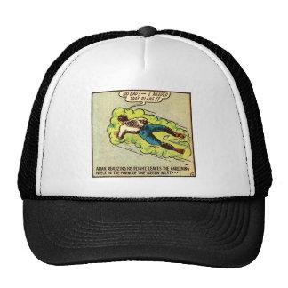 Kitsch Vintage Comic Aman Trucker Hat