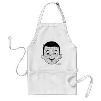 Kitsch Vintage Count My Freckles Kid Adult Apron