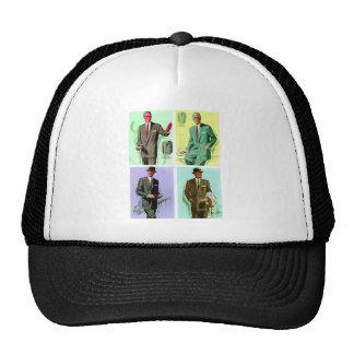 Kitsch Vintage Fashion Men's Suits Trucker Hat