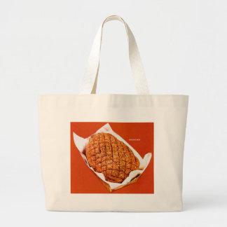 Kitsch Vintage Food 'Ground Beef' Jumbo Tote Bag