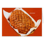 Kitsch Vintage Food 'Ground Beef' Card