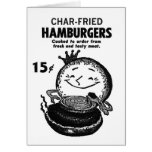 Kitsch Vintage Hamburgers 'Char-Fried'