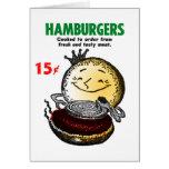 Kitsch Vintage Hamburgers 'Only 15¢'