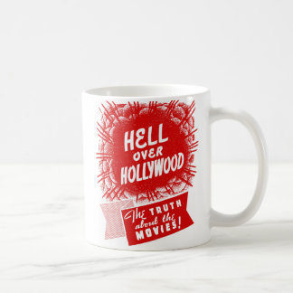 Kitsch Vintage Hell Over Hollywood Coffee Mug