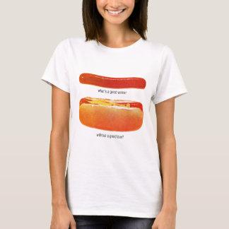 Kitsch Vintage Hot Dog 'Weiners & Buns' T-Shirt