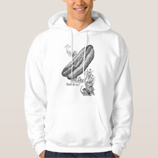 Kitsch Vintage Hot Dogs for Everyone! Hoodie