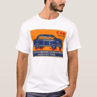 Kitsch Vintage India Matchbook 'Car' T-Shirt
