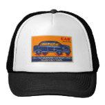 Kitsch Vintage India Matchbook 'Car' Trucker Hat