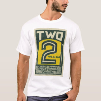 Kitsch Vintage India Matchbook Two 2 T-Shirt