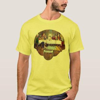 Kitsch Vintage Last Supper Di Vinci Advert Fan T-Shirt