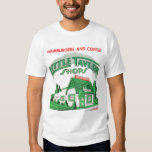 Kitsch Vintage Little Tavern Shops Hamburgers T Shirt