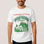 Kitsch Vintage Little Tavern Shops Hamburgers Tshirts